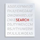 Szukaj — Zdjęcie stockowe