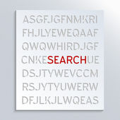 Suche — Stockfoto