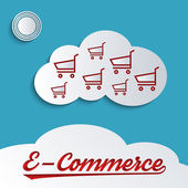E-Commerce — Stockfoto