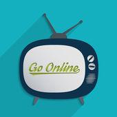 Go online — Stock Photo