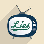 Lies — Stock Vector