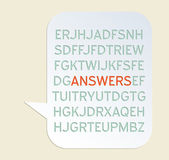 Answers — Vector de stock