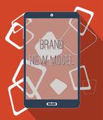 Brand neues modell — Stockfoto