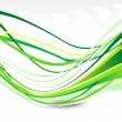 Royalty-Free Stock Vectorielle: Abstract green web background