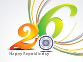 Abstract republic day background — Stock Vector