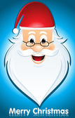 Happy santa claus — Stock Vector