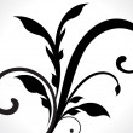 Dark Floral Desing — Stock Vector #29652347