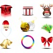 Stock Vector: Christmas Icons Set