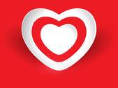 Creative Heart Shape — Vector de stock