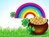 St Patricks Background — Stock Vector