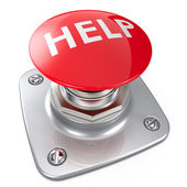 Help Button. — Stock Photo