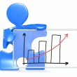 Growth Graph. — Stock Photo