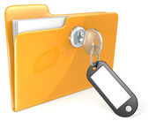 Secure files. — Stockfoto