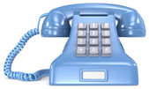 Blue telephone. — Stock Photo