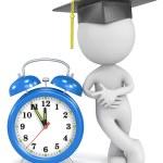 Graduation time. — Stock Photo