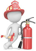 Fire and rescue. — Stock Photo
