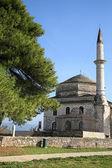 Minarett und moschee — Stockfoto