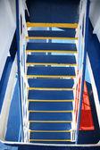 Escaleras en un barco — Foto de Stock