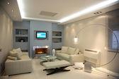 Luxury apartment — Stock Photo
