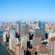 Stock Photo: Aerial view of new york city