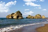 Beautiful tropic beach — Stock fotografie