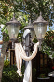 Decorated lantern — Stock Photo