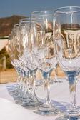 Closeup of champagne — Stockfoto