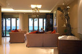 Luxury interior of villa — Foto Stock