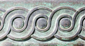 Ancient greek pattern — Stock Photo