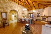 Luxury traditional style villa — Stock Photo