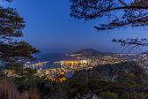 De stad van zante eiland — Stockfoto