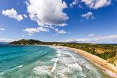 Gerakas beach sea turtle nesting site — Stock Photo