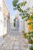 Traditional street in Tinos Island,Greece — Stock Photo