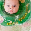 Stock Photo: Baby swimmer