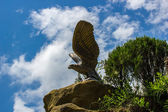 Statue of an eagle — Stock Photo