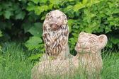 Decorative lion — Stock Photo