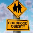 Foto de Stock  : Childhood Obesity