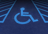 Handicapped And Disabled — Stock Photo