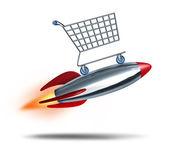 Speed Shopping — Stock Photo