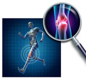 Sports Knee Injury — Stock Photo