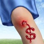 costos de seguro médico — Foto de Stock