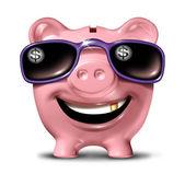 Framgångsrika besparingar — Stockfoto