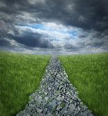 Conquering Adversity — Stock Photo