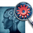 Human Intelligence-Research — Stock Photo