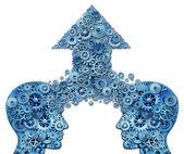 Företags partnerskap — Stockfoto