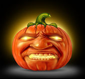 Pumpkin Jack O Lantern — Stock Photo