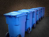 Recycle Bins — Foto de Stock