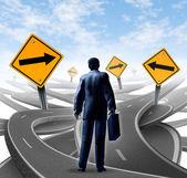 Strategické cesta — Stock fotografie