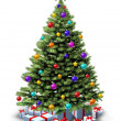 Decorated Christmas Tree — Stock Photo #13950161