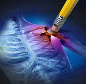 Verlichting van de pijn van de schouder — Stockfoto